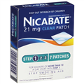 Nicabate Clear Patch 21mg Step1 7 Patches