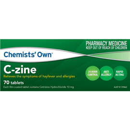 Chemists' Own® C-zine 10mg 70 Tablets